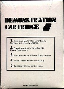 Back of 1978 Demo Box