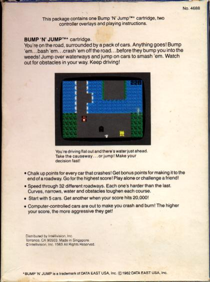 Intellivision Inc. Box - Back