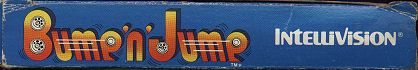 Intellivision, Inc. Bump 'n' Jump Box Flap w/o UPC